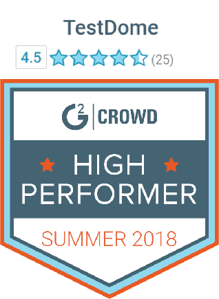TestDome user reviews on G2 Crowd